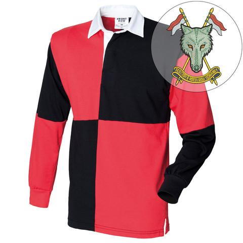 Rugby Shirts - Scottish And North Irish Yeomanry Quartered Rugby Shirt