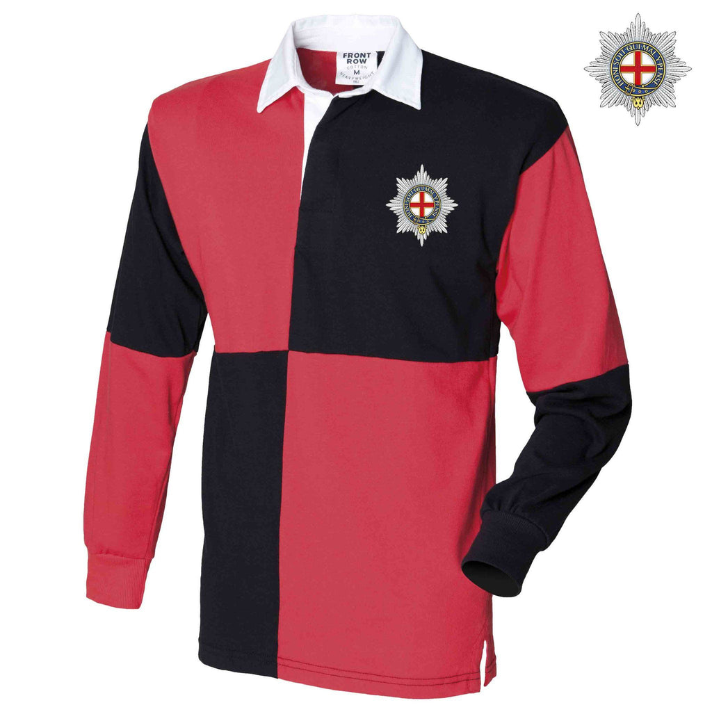 Rugby Shirts - The Coldstream Guards Quartered Rugby Shirt