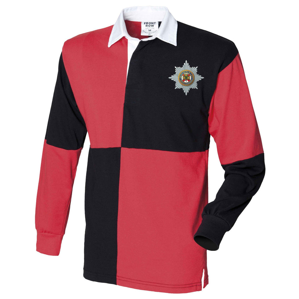 Rugby Shirts - The Irish Guards Quartered Rugby Shirt
