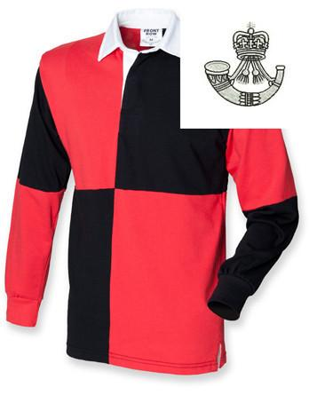 Rugby Shirts - The Rifles Regiment Quartered Rugby Shirt