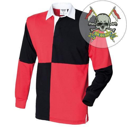 Rugby Shirts - The Royal Lancers Quartered Rugby Shirt