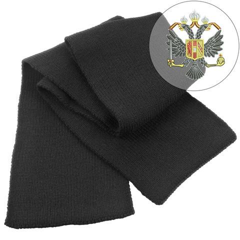 Scarf - 1st Queen's Dragoon Guards Heavy Knit Scarf