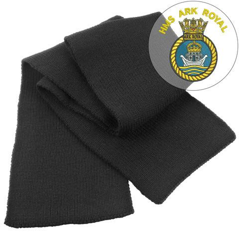 Scarf - HMS Ark Royal Heavy Knit Scarf