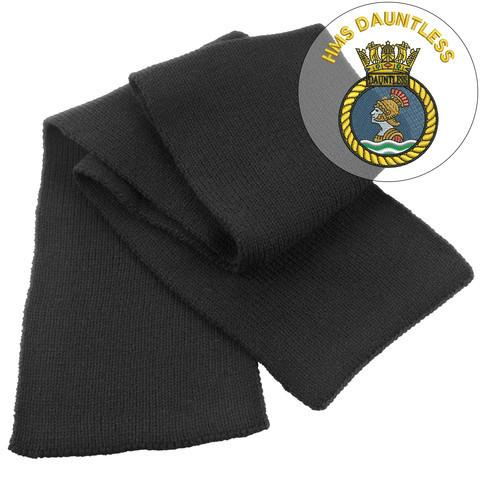 Scarf - HMS Dauntless Heavy Knit Scarf
