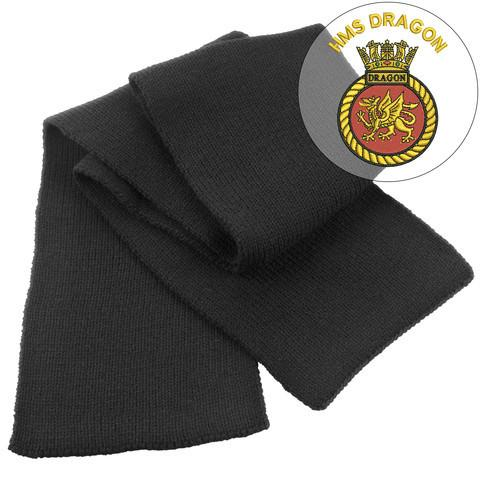Scarf - HMS Dragon Heavy Knit Scarf