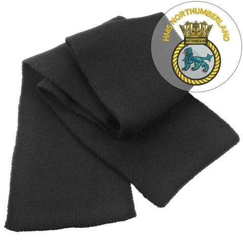 Scarf - HMS Northumberland Heavy Knit Scarf