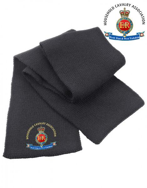 Scarf - Household Cavalry Association North West & West Yorkshire Heavy Knit Scarf