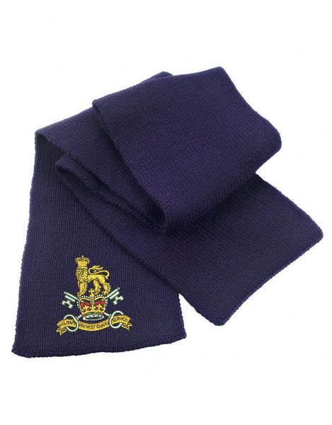 Scarf - Military Provost Guard Service Embroidered Heavy Knit Scarf