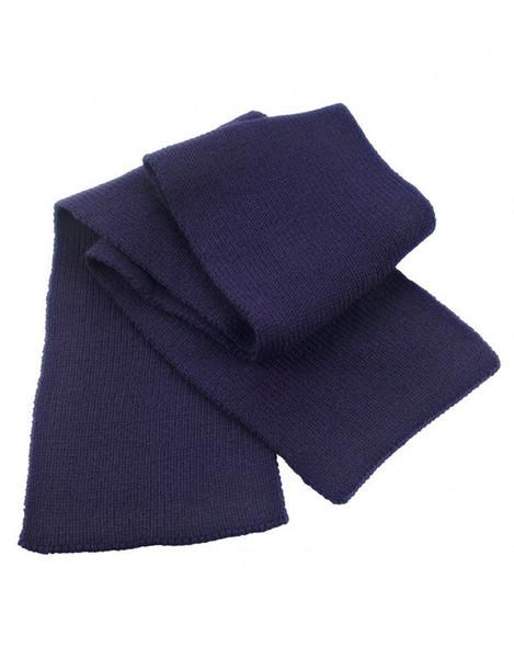Scarf - Navy Diver Heavy Knit Scarf