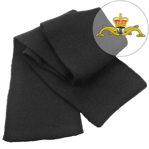 Scarf - Navy Submariner Heavy Knit Scarf