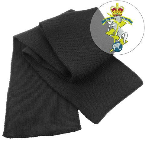 Scarf - Royal Electrical And Mechanical Engineers Heavy Knit Scarf
