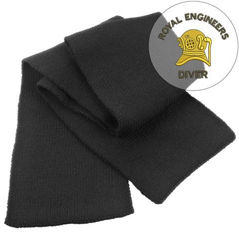 Scarf - Royal Engineers Diver Heavy Knit Scarf