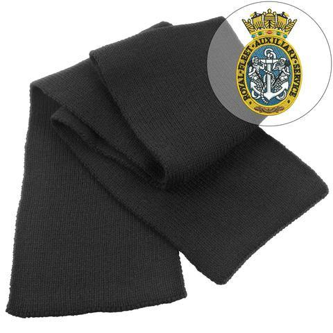 Scarf - Royal Fleet Auxiliary Service Heavy Knit Scarf