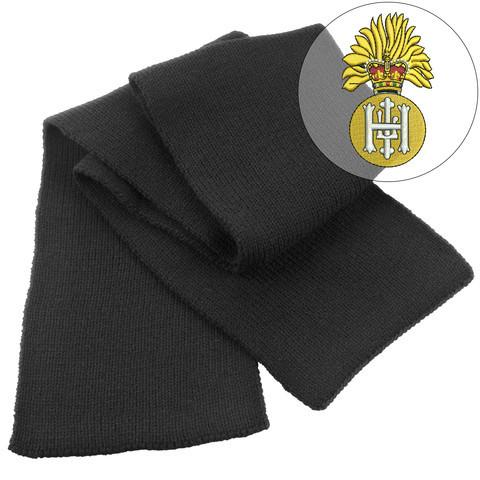 Scarf - Royal Highland Fusiliers Heavy Knit Scarf