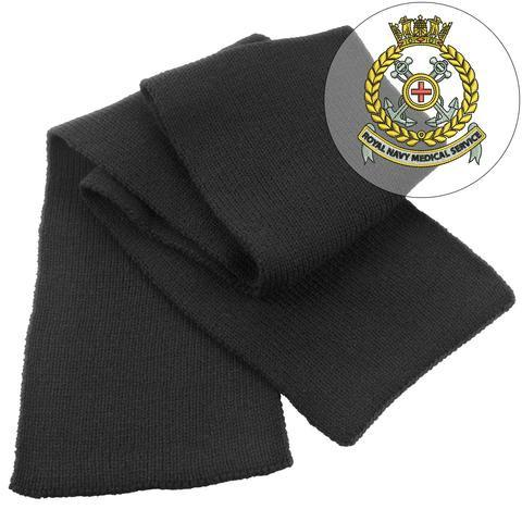 Scarf - Royal Navy Medical Service Heavy Knit Scarf
