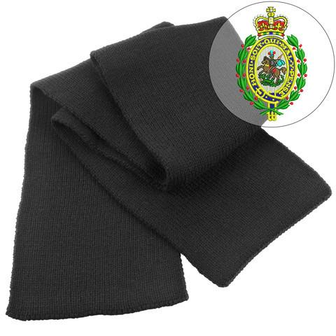 Scarf - Royal Regiment Of Fusiliers Heavy Knit Scarf