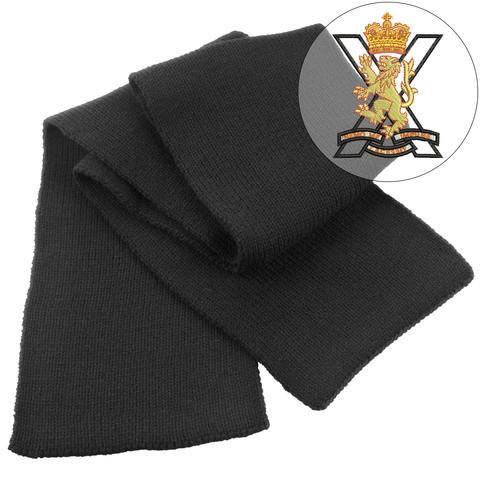 Scarf - Royal Regiment Of Scotland Heavy Knit Scarf