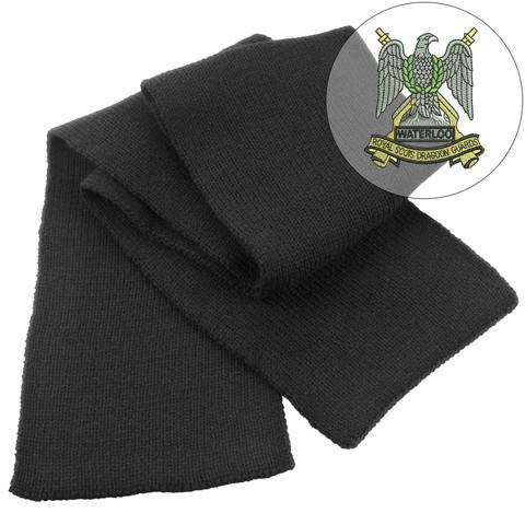 Scarf - Royal Scots Dragoon Guards Heavy Knit Scarf