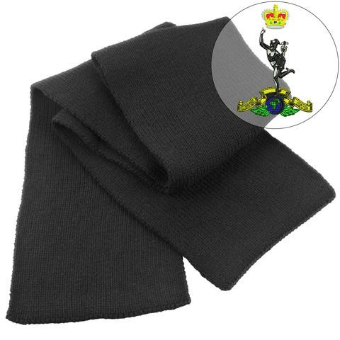 Scarf - Royal Signals Heavy Knit Scarf