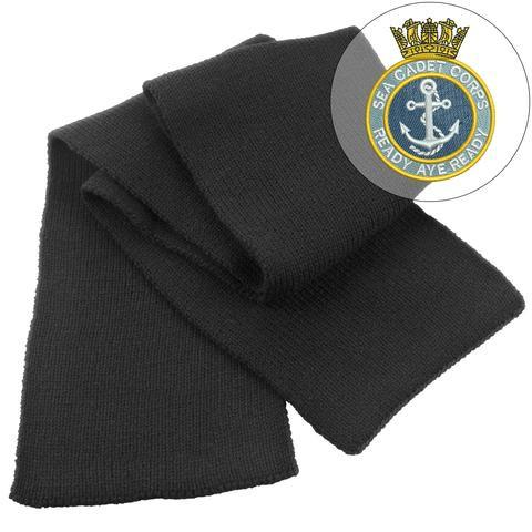Scarf - Sea Cadets Heavy Knit Scarf