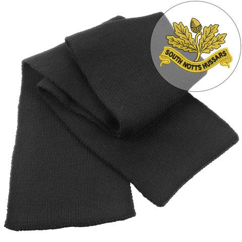 Scarf - South Nottinghamshire Hussars Heavy Knit Scarf
