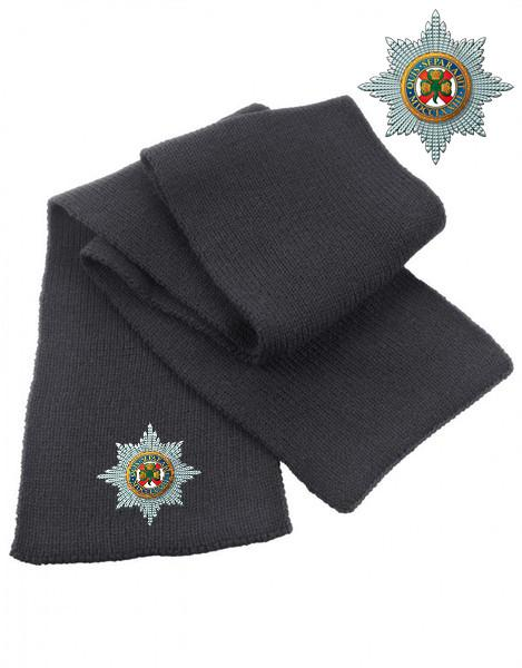 Scarf - The Irish Guards Heavy Knit Scarf