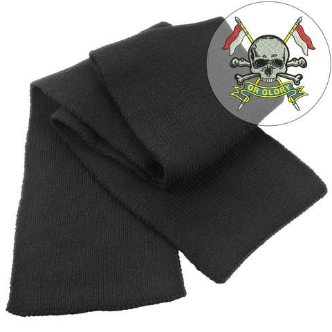 Scarf - The Royal Lancers Heavy Knit Scarf