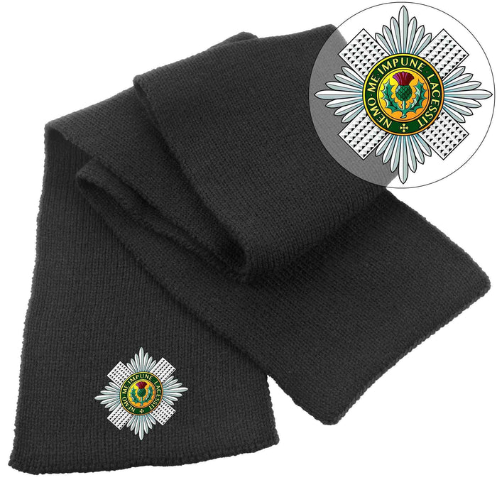 Scarf - The Scots Guards Heavy Knit Scarf