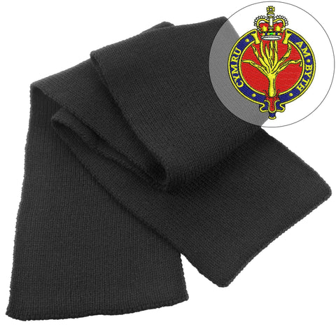 Scarf - Welsh Guards Heavy Knit Scarf