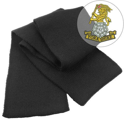 Scarf - Yorkshire Regiment Heavy Knit Scarf