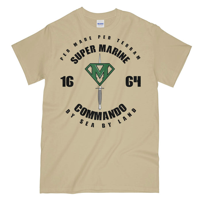 Super Marine Commando Printed T-Shirt