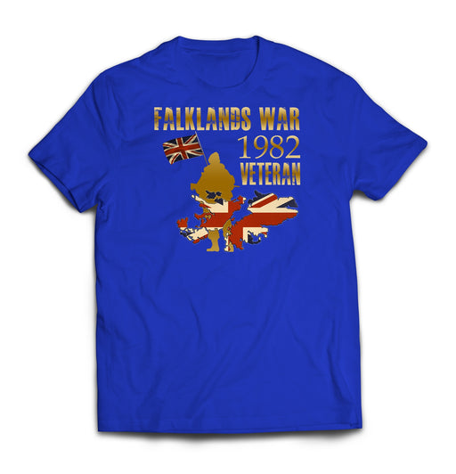 T-Shirt - Falklands War Veteran Printed T-Shirt