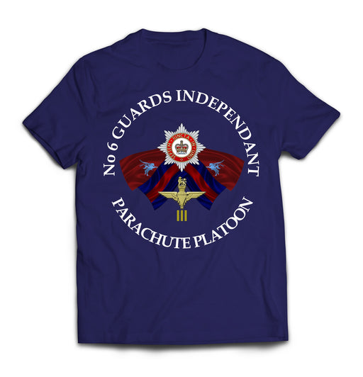 T-Shirt - No 6 GUARDS INDEPENDENT PARACHUTE PLATOON Printed T-Shirt