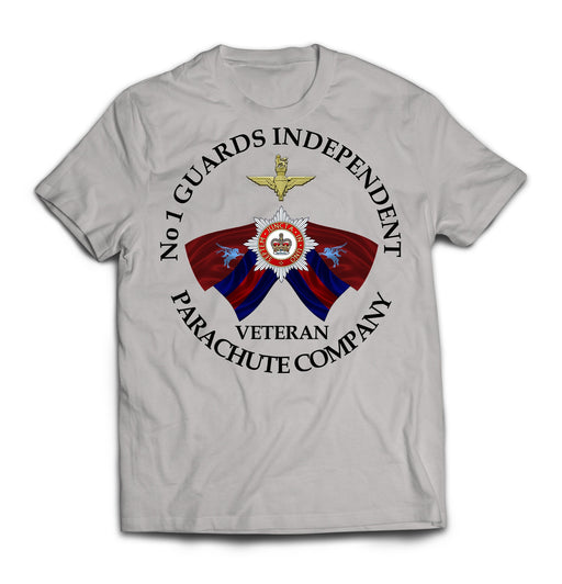 T-Shirt - Number 1 Guards Independent Parachute Company Printed T-Shirt
