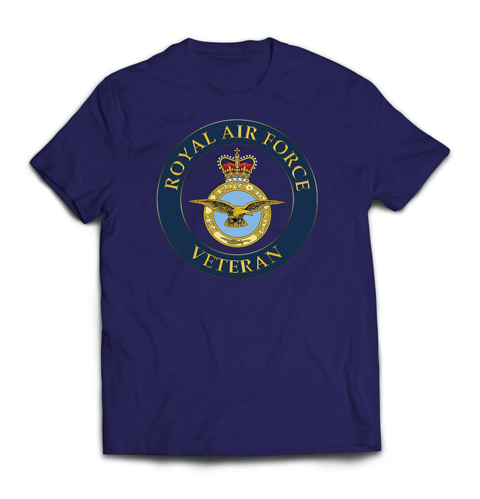 T-Shirt - RAF Veterans Printed T-Shirt