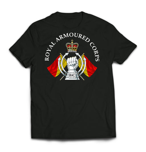 T-Shirt - ROYAL ARMOURED CORPS RAC Printed T-Shirt