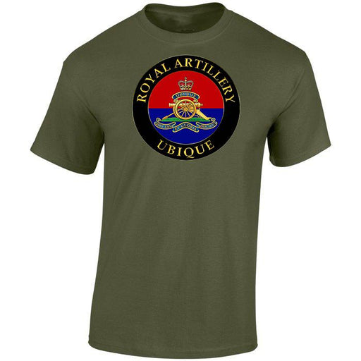 T-Shirt - ROYAL ARTILLERY UBIQUE ARMY Printed T-Shirt