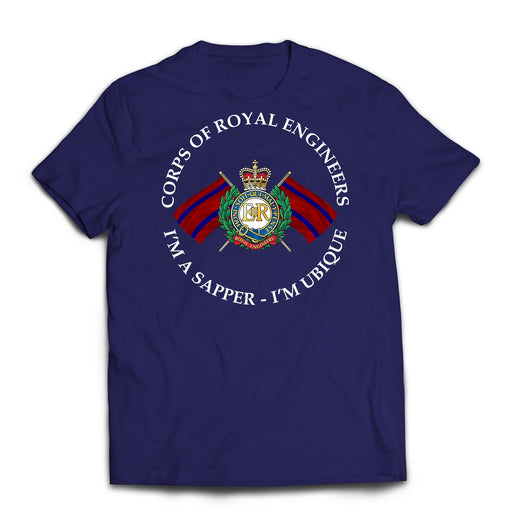 T-Shirt - ROYAL ENGINEERS I'M A SAPPER Printed T-Shirt
