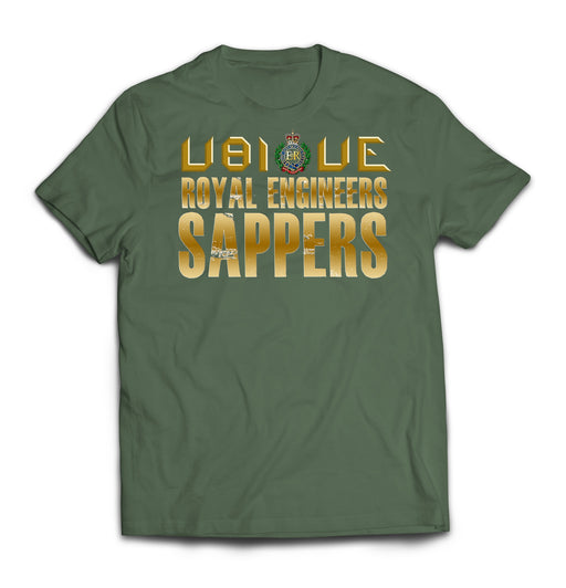 T-Shirt - ROYAL ENGINEERS UBIQUE SAPPERS Printed T-Shirt