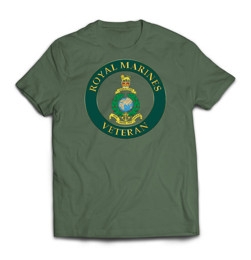 T-Shirt - Royal Marines Veterans Printed T-Shirt