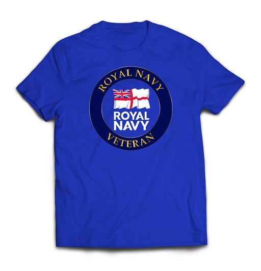 T-Shirt - Royal Navy Veteran Printed T-Shirt