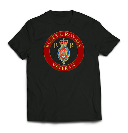 T-Shirt - The Blues And Royals Veteran 2 Printed T-Shirt