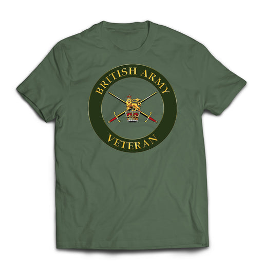 T-Shirt - The British Army Veterans Printed T-Shirt
