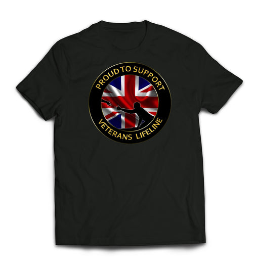 T-Shirt - Veterans Lifeline Supporters Printed T-Shirt