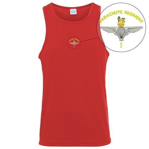T-Shirts - 1 PARA Embroidered Sports Vest