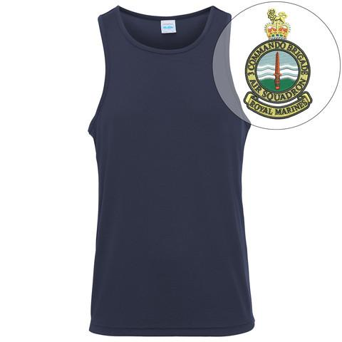 T-Shirts - 3 Commando Brigade Air Squadron Embroidered Sports Vest