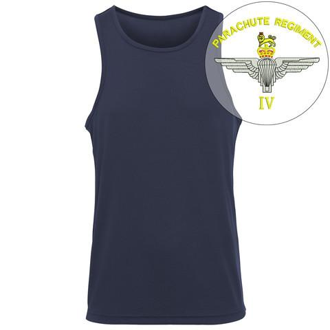 T-Shirts - 4 PARA Embroidered Sports Vest