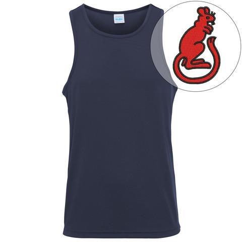 T-Shirts - 7th Armoured Brigade Embroidered Sports Vest