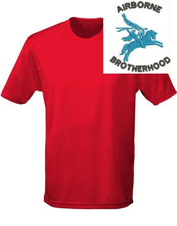 T-Shirts - Airborne Brotherhood Sports T-Shirt