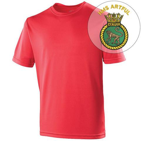 T-Shirts - HMS Artful Sports T-Shirt